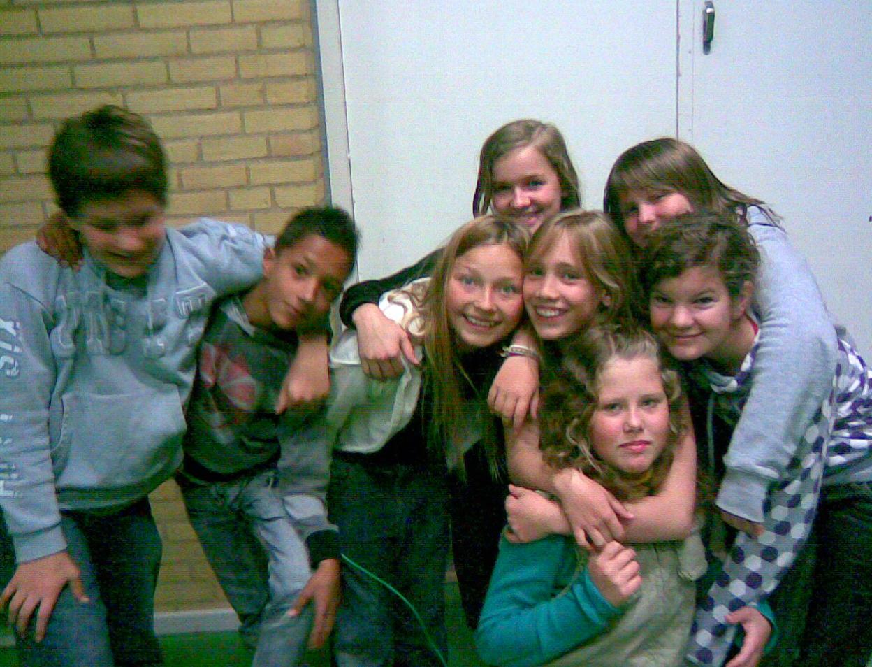 Mine unger fra børnesommerlejr 2007